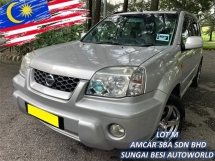 2004 NISSAN X-TRAIL 2.0L LUXURY (A) 4WD GOOD CONDITION