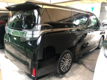 2017 TOYOTA VELLFIRE 2.5 ZG 360 Surround Camera Sun Roof Moon Roof Pilot Memory Seat Automatic Power Boot 2 Power Doors Intelligent Bi LED Light Smart Entry 3 Zone Climate Auto Cruise Control Bluetooth 9 Air Bags Unreg