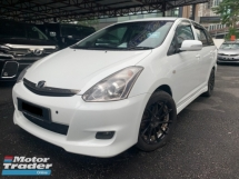 2008 TOYOTA WISH 1.8 S SPEC TRUE YEAR 4 DISC BRAKE GPS LEATHER TIP TOP CONDITION