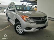 2013 MAZDA BT-50 4X4 DOUBLE CAB 2.5L (A)