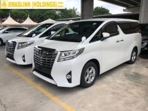 2015 TOYOTA ALPHARD 2.5 2AR-FE 360 Surround Camera Automatic Power Boot 2 Power Doors Intelligent Bi-LED Smart Entry Push Start 3 Zone Climate Control 9 Air Bags Unreg