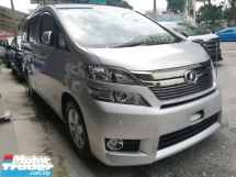 2014 TOYOTA VELLFIRE 2.4X/FREE 5 years WARRANTY/READY STOCK/OFFER