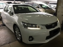 2012 LEXUS CT200H HYBRID LUXURY 69K KM Full Service Actual Year Make