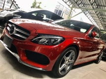 2014 MERCEDES-BENZ C-CLASS 180 AMG SPEC RED EDITION  SPECIAL PROMOTION BAGI JADI JAA