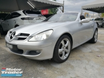 2006 MERCEDES-BENZ SLK SLK200 KOMPRESSOR SPORTS EDITION
