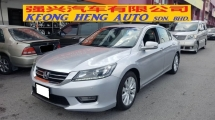 2014 HONDA ACCORD 2.0 VTI-L i-Vtec (A) REG 2014, ONE CAREFUL OWNER, FULL SERVICE RECORD, MILEAGE DONE 125K KM, HIGH SPEC, SELDOM USE, 17