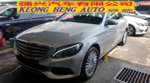 2015 MERCEDES-BENZ C-CLASS C250 2.0cc CGI EXCLUSIVE (A) REG AUGUST 2015, ONE CAREFUL OWNER, FULL SERVICE RECORD, LOW MILEAGE DONE 44K KM, UNDER MERCEDES BENZ WARRANTY UNTIL AUGUST 2019