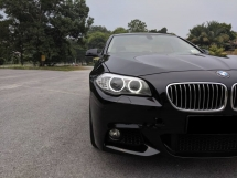 2011 BMW 5 SERIES Bmw 523i 2.5 F10 8 SPd 268hp (A) VOSSEN RIM M-SPORT B/KITS FREE ROADTAX INSURANCE