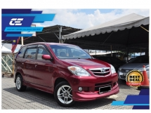 2007 TOYOTA AVANZA 1.3 (M) Keep All Original Conditions * LOW Mileage 130k KM