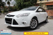 2013 FORD FOCUS 2.0 (A) Titanium Plus (Sunroof and Auto Park System)(1 Owner)