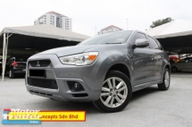 2012 MITSUBISHI ASX 2.0 (A) SE Full Specs (Paddle Shift)(Push Start)(1 Owner)(Full Loan)