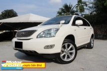 2009 TOYOTA HARRIER 2.4 (A) Alcantara Full Specs (Ori Yr 2009)(Power Boot)(Panaromic Roof)