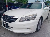 2012 HONDA ACCORD 2.4 (A) FSR77Kkm Honda Record Fu/Loan