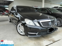2012 MERCEDES-BENZ E-CLASS E250 CGI BLUE EFFICIENCY