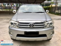 2010 TOYOTA FORTUNER 2.7 V SUV FACELITE AT (TRUE YEAR MAKE)(ONE OWNER)(LOW MILEAGE)(2 YEAR WARRANTY)
