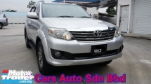 2015 TOYOTA FORTUNER 2.7 V (A) 4WD Petrol (CKD) Very Good Condition Never Accident No Leaking Problem Worth Buy