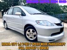 2005 HONDA CITY 1.5 VTEC 7 SPEED MODE PADDLESHIFT FULL BODYKIT