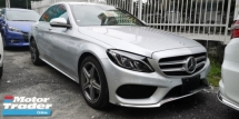 2014 MERCEDES-BENZ C-CLASS C200 2.0 AMG SPORT  POWER BOOT  HEAD UP DISPLAY  TIPTOP CONDITION FROM JAPAN  ORIGINAL MILEAGE