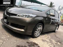 2009 TOYOTA WISH 1.8S  (A) REG 12 Malay Owner ConditioN