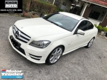 2012 MERCEDES-BENZ C-CLASS C180 LIMITED  AMG COUPE (A) MIL 41K Local