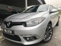 2017 RENAULT FLUENCE 2.0 Udr 3 Yrs Warranty/Service