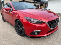 2014 MAZDA 3 2.0 AUTO (CBU) SKYACTIV FULL SPEC , i-STOP, PADDLE SHIFT, PUSH START BUTTON, KEYLESS ENTRY, LEATHER SEAT, REVERSE CAMERA, SUN ROOF, LOW DOWN PAYMENT