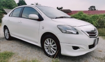2012 TOYOTA VIOS 1.5 AUTO VVTI ENGINE SAVE PETROL / TRD BODYKIT / ORIGINAL SPORT RIMS / REVERSE CAMERA / TIPTOP CONDITION / LOW DOWN PAYMENT
