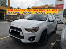 2015 MITSUBISHI ASX 2.0 CKD TRUE YEAR MADE 2015 Full Leather Well Service Maintain
