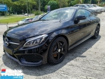 2016 MERCEDES-BENZ C-CLASS C300 Coupe AMG Line Unregister 1 YEAR WARRANTY