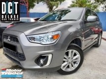2017 MITSUBISHI ASX 2.0 GL SUV LED FACELIFT 1 OWNER MIVEC FULL SERVICE RECORD