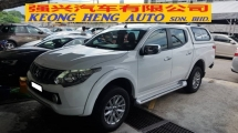 2017 MITSUBISHI TRITON 2.4 VGT (A) REG JAN 2018, ONE CAREFUL OWNER, LOW MILEAGE DONE 33K KM, WITH CANOPY, 17