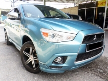 2010 MITSUBISHI ASX 2.0 (A) LEATHER SEAT, PADDLE SHIFT
