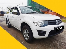 2013 MITSUBISHI TRITON 2.5 LITE (M) LEATHER SEAT, CAR KING