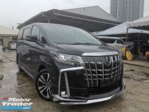 2018 TOYOTA ALPHARD 3.5 SAC FULL SPEC MODELISTA BODYKIT/SUNROOF/JBL/FULL LEATHER/PRE CRASH UNREG