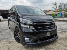 2009 TOYOTA VELLFIRE 2.4 Z Platinum FULL TRD BODTKIT 2POWER DOOR/POWER BOOT 2009