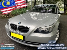 2009 BMW 5 SERIES 523I SE (CKD) 2.5 FACELIFT (A) LCI I-DRIVE NAVI LOCAL