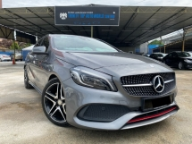 2017 MERCEDES-BENZ A250 2.0 SPORT AMG FULL SPEC - FACELIFT - WARRANTY - FULL SERVICE RECORD - 44K MILEAGE - LIKE NEW - NICE PLATE NO - END YEAR SALE