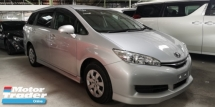 2015 TOYOTA WISH 1.8 X / 6A CONDITION FROM JAPAN / ORI MILEAGE NO TAPPED / DON'T MISS OUT THIS TIME