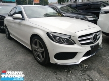 2014 MERCEDES-BENZ C-CLASS C180 1.6 AMG/NEW ARRIVAL READY STOCK/FREE WARRANTY/OFFER/NON SMOKING