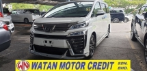 2018 TOYOTA VELLFIRE 2.5ZG Edition 3 LED LIGHT NO HIDDEN CHARGES