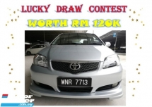 2006 TOYOTA VIOS  1.5 G (A) CTOS/B LIST CAN LOAN