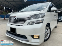 2010 TOYOTA VELLFIRE 2.4 body kit sunroof Warranty