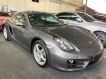 2016 PORSCHE CAYMAN 2.7 coupe sport mode paddle shift pdk unregistered