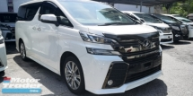 2016 TOYOTA VELLFIRE ZA GOLDEN EYES / SUNROOF / ALPHINE / 5 YEARS WARRANTY UNLIMITED KM / DONT MISS OUT THIS TIME