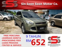 2013 FORD KUGA 1.6 PREMIUM SUV Ecoboost Titanium BLACKLIST BOLE LOAN(AUTO)2013 Only 1 LADY Owner, 68K Mileage, FULL FORD SERVICE RECORD & POWERBOOTES HONDA TOYOTA NISSAN MAZDA PERODUA MYVI AXIA VIVA ALZA SAGA PERSONA EXORA ERTIGA VIOS YARIS ALTIS CAMRY VELLFIRE CITY KIA