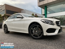 2015 MERCEDES-BENZ C-CLASS C200 2.0 AMG LINE JAPAN UNREG BUY&WIN FREE 5 YEARS WARRANTY