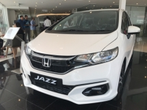 2019 HONDA JAZZ 1.5 i-VTEC 120hp 7-speed Continuous Variable Transmission Smart Entry Push Start Button VSA Vehicle Stability Control ABS Braking System Bluetooth Connectivity Paddle Shift Auto Cruise Control
