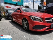 2017 MERCEDES-BENZ CLA 180 AMG 1.6 / NEW FACELIFT / READY STOCK / TIPTOP CONDITION ORIGINAL MILEAGE