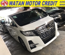 2017 TOYOTA ALPHARD 2.5 SC FULL SUNROOF POWER DOORS POWER BOOTH JDM SOUND SYSTEM WITH MONITOR 2017 JPN UNREG