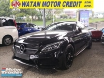 2016 MERCEDES-BENZ C-CLASS C300 2.0 AMG IN LINE PREMIUM PLUS COUPE BURMESTER SOUND PANORAMIC ROOF KEYLESS INC SST POWER BOOT UK UNREG